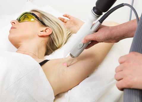 Behandlungen zur Haarentfernung