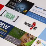 Visitenkarte gestalten auf eine Weise, die den Werten Ihrer Marke entspricht
